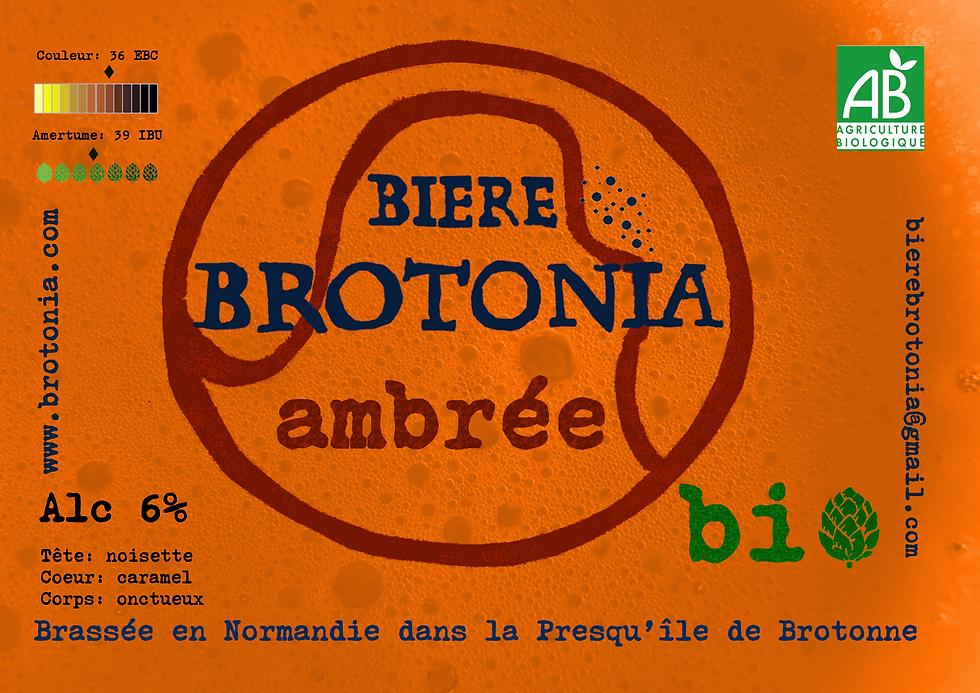 Nouveau présentoir Brotonia bière ambrée