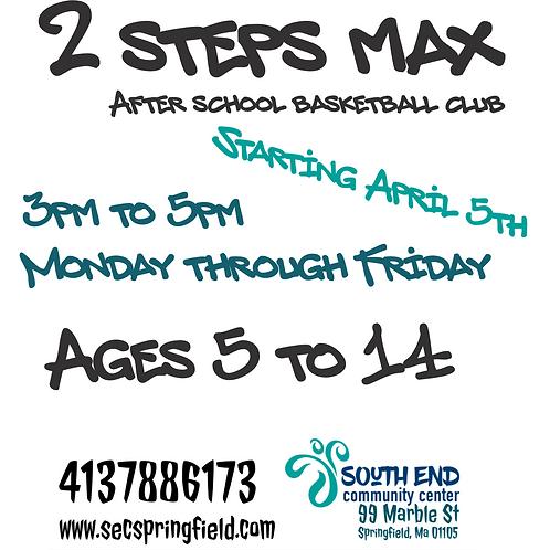 After school program (2 steps max)