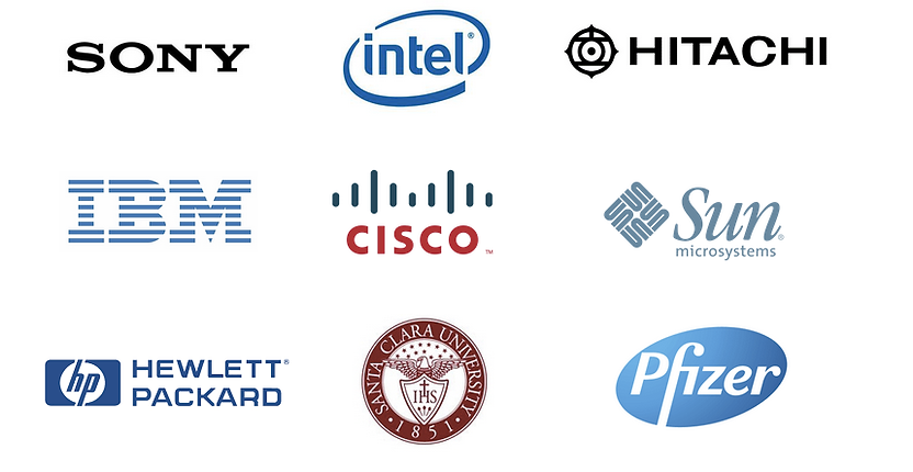 SONY, Intel, IBM, Genetech, Cisco, Sun, Hitachi