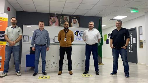 Temir Team Training in Saudi