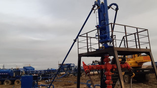 First Job With Wellhead Isolation Tool