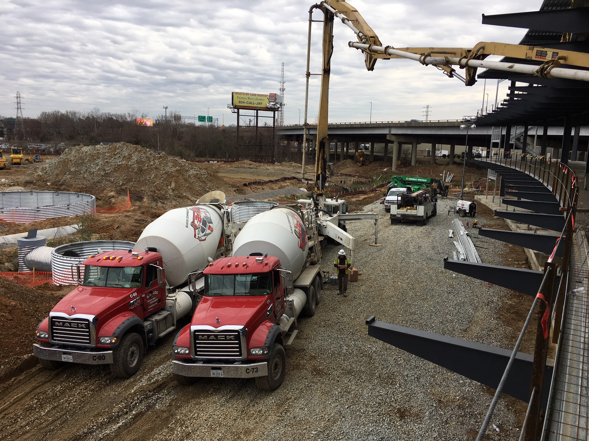 Concrete Supplier | S B Cox Ready Mix, Inc  | Virginia | Ready mix