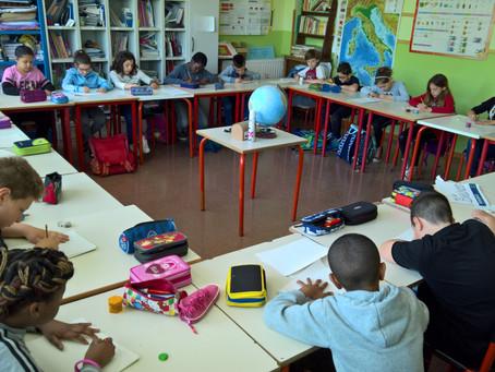 """""""Osservando la realtá: il punto di vista"""" laboratory @Aldo Moro primary school"""