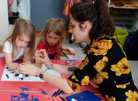 """""""Värien kulttuuri"""" laboratory @Soilikki Kindergarten - Tampere"""