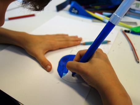 """""""L'arte di esprimersi"""" laboratory @Aldo Moro primary school"""