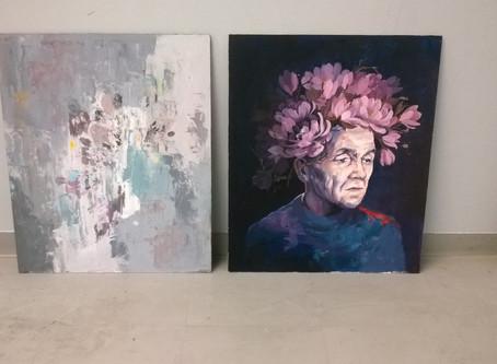 """""""Figurative-Non figurative"""" Art collaboration w/TAMK university"""