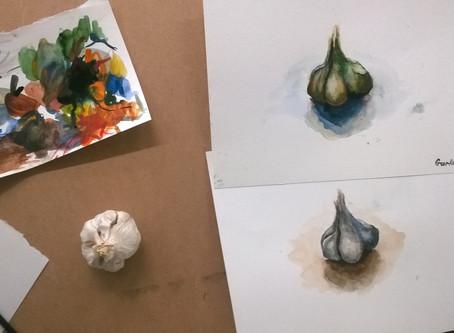 """Natural Element"" Art collaboration w/TAMK university"