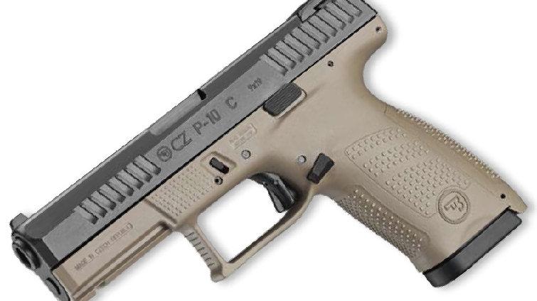 CZ P10 COMPACT 9mm, FDE