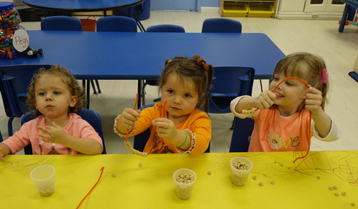 Look at our great fine motor skills!