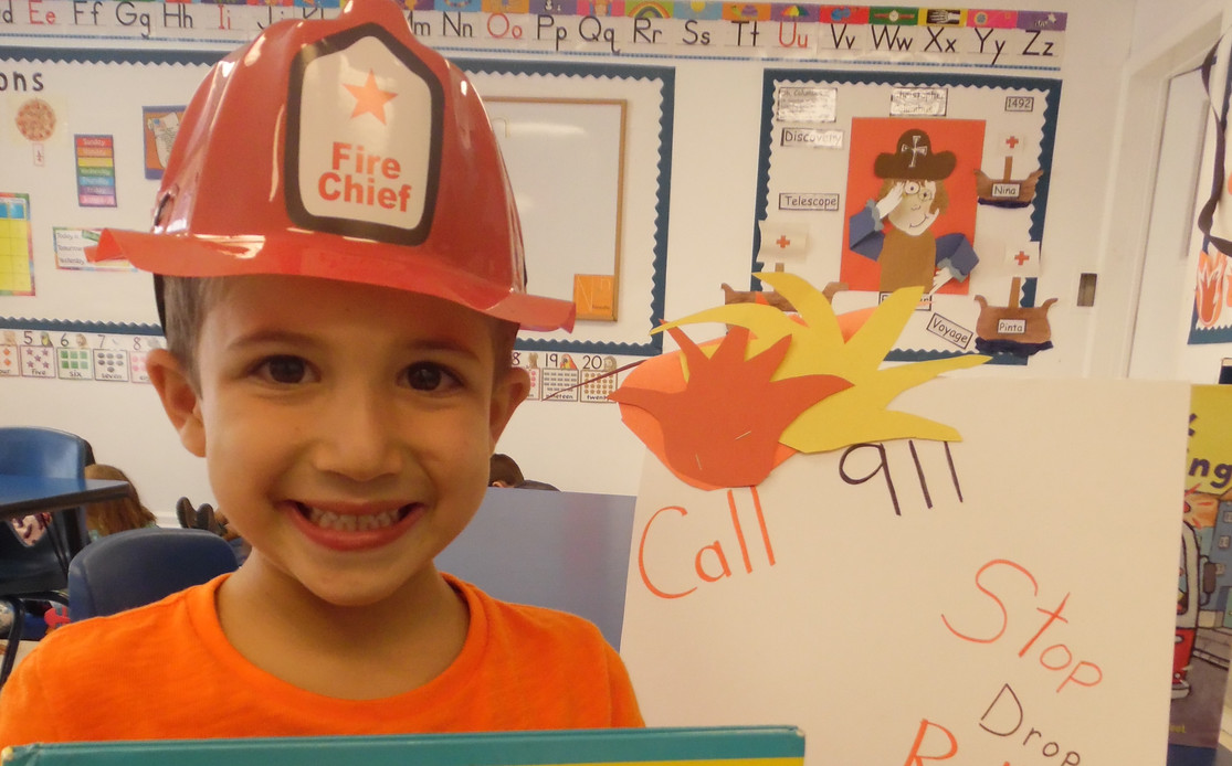 Learning all aout fire safety