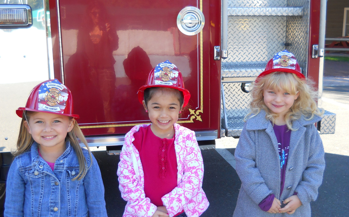 Firemen visit