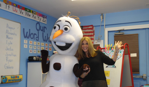 Olaf came to visit
