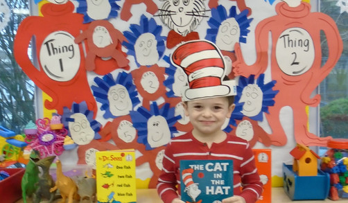 Rhyming & Reading with Dr Seuss
