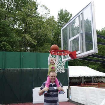 I can dunk!