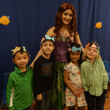 Ariel visits for our Under the Sea presentation