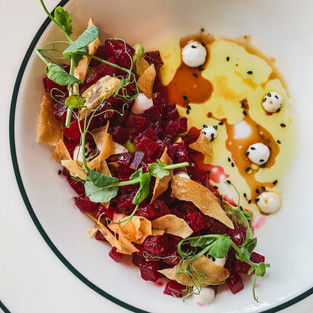 PLANT BASED FRENCH DINING AT THE MAINE