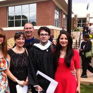 Kristian's College Graduation