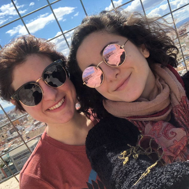 Kaila and Karina