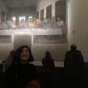 Karina at the Last Supper