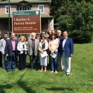 At Charles Sanders Peirce House