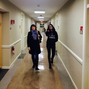 Esther and Karina In Mount Holyoke Dorms