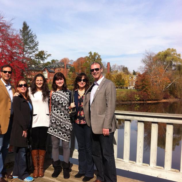 Visiting Kaila at Mount Holyhoke College