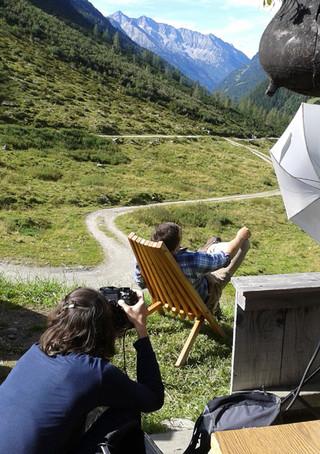 Backstage in Südtirol