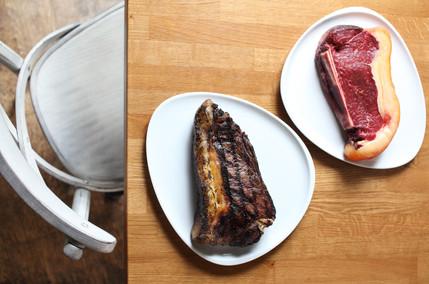Steak von Oma Kuh