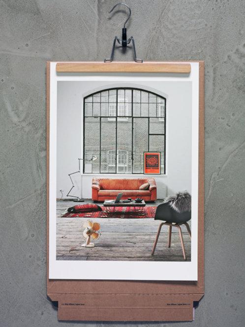Fine Art Print- Sofa