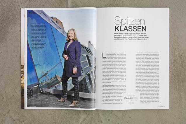 Portraits Luxury Living Magazin