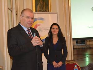 Participarea ambasadorului roman la dezbaterea Brexit - provocari si oportunitati pentru Romania, Lo