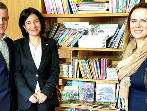 """Campania """"Doneaza o carte si schimba viitorul unui copil"""""""