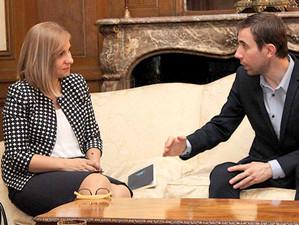 Membrii Consiliului Romanilor de Pretutindeni din Marea Britanie au participat la o intalnire cu Min