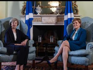 Pe fondul tensiunilor independentei de Marea Britanie, premierul Scotiei o ataca in mod direct pe Th