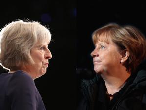 Premierul Marii Britanii o insulta pe Angela Merkel, amintindu-i ca nu detine cheia negocierilor Bre