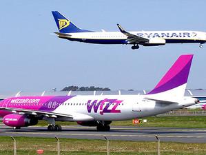 Wizz air lupta vertiginos cu rivalul Ryan air! Compania ungara mareste numarul curselor Bucuresti –