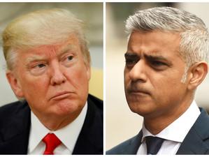După un schimb acid de replici, primarul Londrei cere anularea vizitei lui Donald Trump în Marea Bri