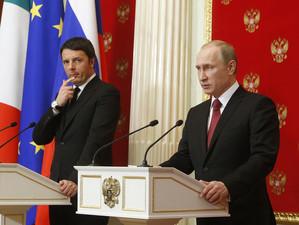 """Premierul Italiei salveaza """"pielea"""" Rusiei de la noi sanctiuni"""