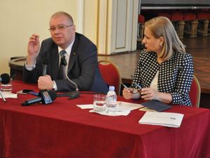 Vizita ministrului delegat pentru Romanii de Pretutindeni Maria Ligor la Londra
