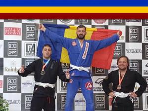 Ionuț Ghiță, medaliat cu aur la Brazilian Jiu Jitsu Open 2017