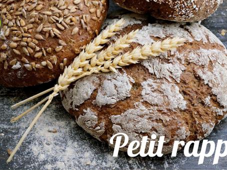 Vos commandes de pains : 48h à l'avance
