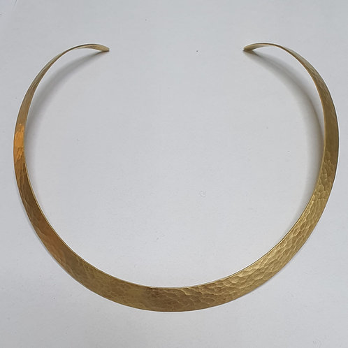Halsreif, 925er Silber, vergoldet