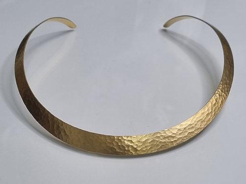 Halsreif aus 925er Silber, goldplattiert