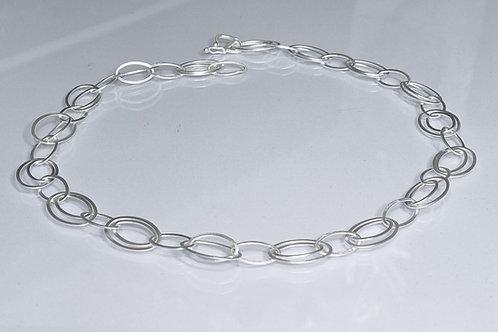 Gliederkette aus 925er Silber