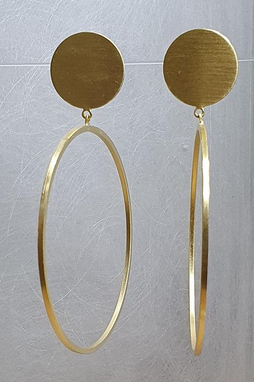 Ohrstecker aus 925er Silber, vergoldet