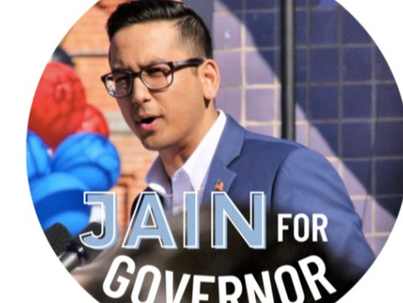 An Interview: Jain for governor