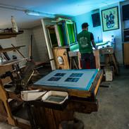 Atelier d'impression et de création