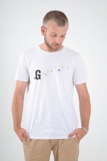 T-Shirt .G Minimaliste homme