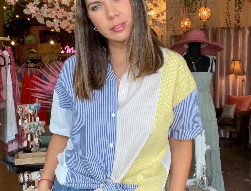 Francia Stripes Shirt