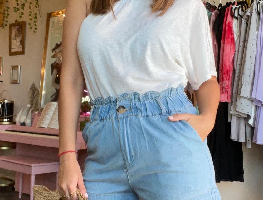 Portofino Shorts -  Blue Jean